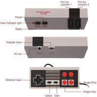Game Console with 620 Classic NES Games 3