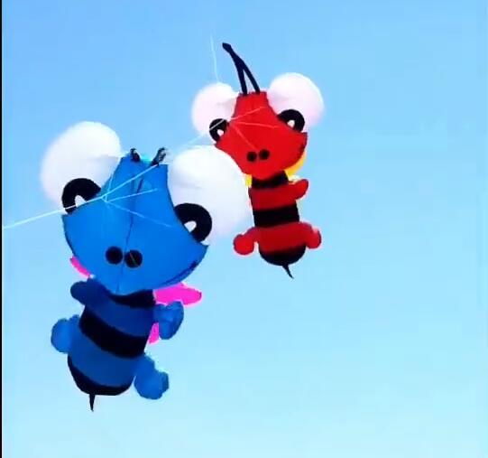 Livraison gratuite singe doux cerf-volant pendentif tissu jouets d'extérieur animal cerf-volant roue ripstop nylon cerf-volant volant pieuvre doux cerf-volant tissu - 2