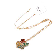 Vintage Fine Potter Necklace For Women Kids Magic College Badge Pendant Chain Men Jewelry Wholesale
