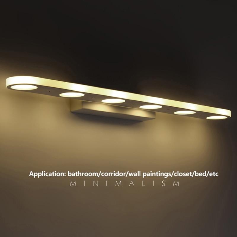modern LED wall lamp 10W Waterproof bathroom led Mirror light for ...