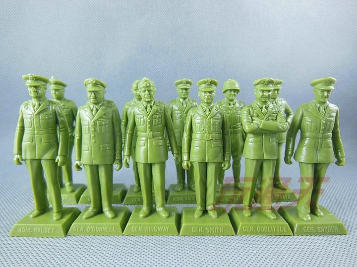 out of print  US generals nostalgic series  World War II  Green 12pcs/set uncanny avengers unity volume 3 civil war ii