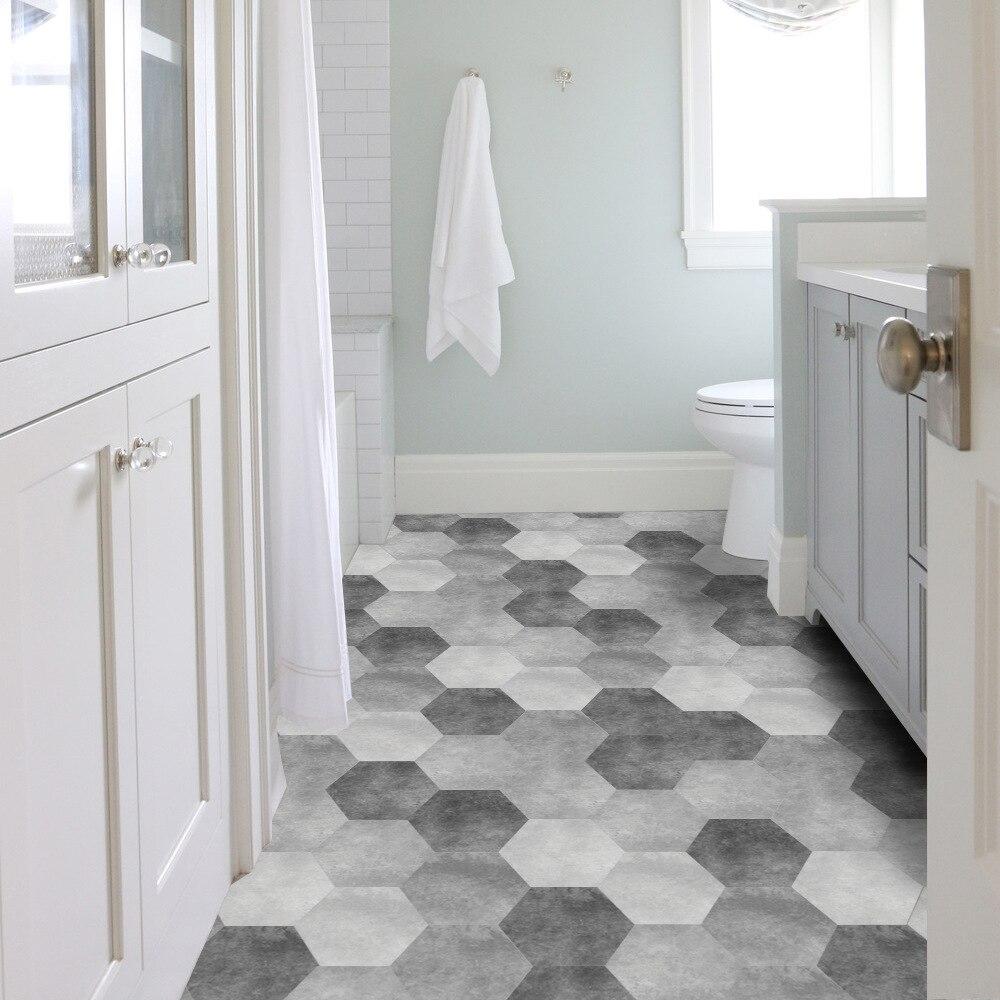 Funlife Gray Cement Tiles Floor