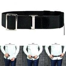 Модный черный держатель для рубашки, регулируемый пояс для женщин и мужчин, подходит для интервью 120 см