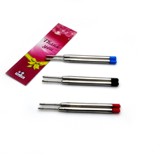 Top Quality ballpoint pen refills Tactical Pen and spy ink good writing feel for roller ball 20pcs a lot