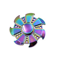 Tri Spinner Fidget Hand Spinner Camouflage Multi Color EDC Focus Toys For Kids Adults Children Kids