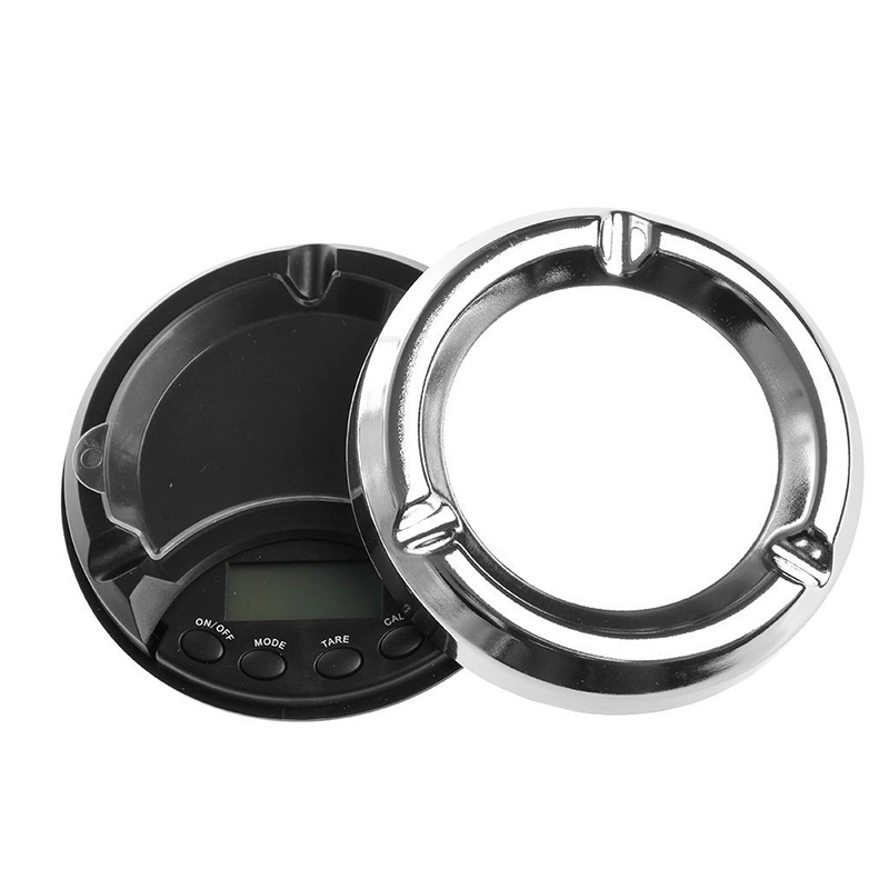 SDFC-Mini 500g/0.1g Ashtray Backlight LCD Display Jewelry Electronic Digital Scale