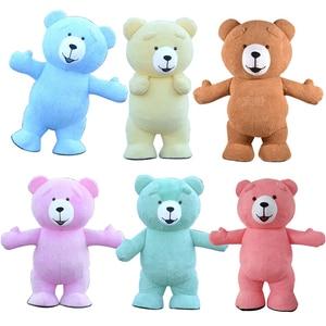 Image 1 - Urso de pelúcia traje inflável adulto gonflável nossos traje cosplay nossos en peluche mascote animal lol