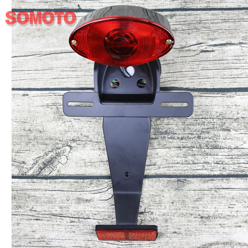 Motorcycle universal  light tail lamp for Cross-country motorcycle rear light vintage motorcycle custom rear light assemblyMotorcycle universal  light tail lamp for Cross-country motorcycle rear light vintage motorcycle custom rear light assembly