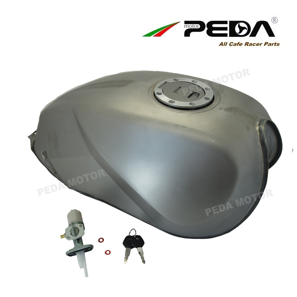 B5 PEDA Cafe Racer Tank 12L Motorcycle Vintage Fuel Can Retro Petrol Tank For SUZUKI GS 125 Gasoine cans Universal High Quality b5 peda cafe racer tank 12l motorcycle vintage fuel can retro petrol tank for suzuki gs 125 gasoine cans universal high quality
