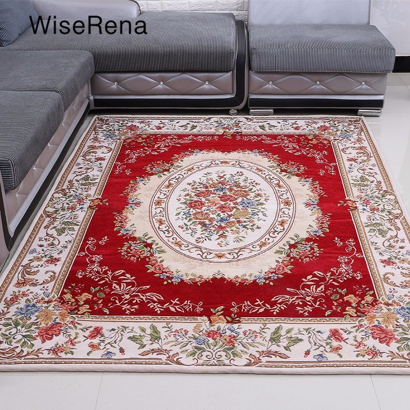 Mat For Home Parlor Bedroom Living Room 9 Dimensions: Europe Jacquard Carpet Parlor Living Room Carpet Corridor