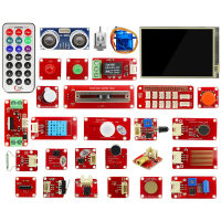 Elecrow Raspberry Pi 3 Starter Kit LED Sensor Modules 9G Servo DIY Electronic Education User With
