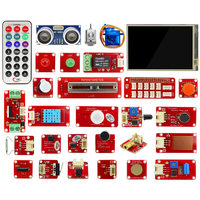 Elecrow Raspberry Pi 3 Starter Kit 3.5 inch Display Sensor Modules LED 9G Servo Raspberry Pi IOT Projects Electronic DIY Kit
