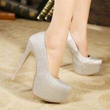 2016 mode Sexy Extreme High Heels Damen Party Club Schuhe Für frauen Super Heels 16 cm Heels Schuhe Hochzeit Schuhe Zapatos Mujer