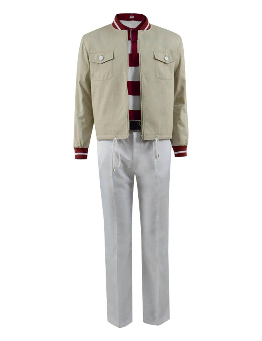 Generous The Truman Show Truman Burbank Cosplay Costume Men Suit Baseball Jacket Full Set