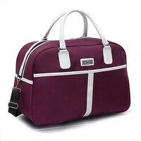 Oxford Frauen Reisetaschen Wasserdichte Große Kapazität Mode Handtasche Weibliche Duffle Tasche T734 Wochenende Reisetasche Für Frauen