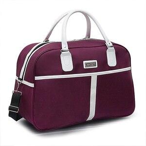 Oxford Women Travel Bags Waterproof Large Capacity Fashion Handbag Female Duffle Bag T734 Weekend Travel Bag For Women