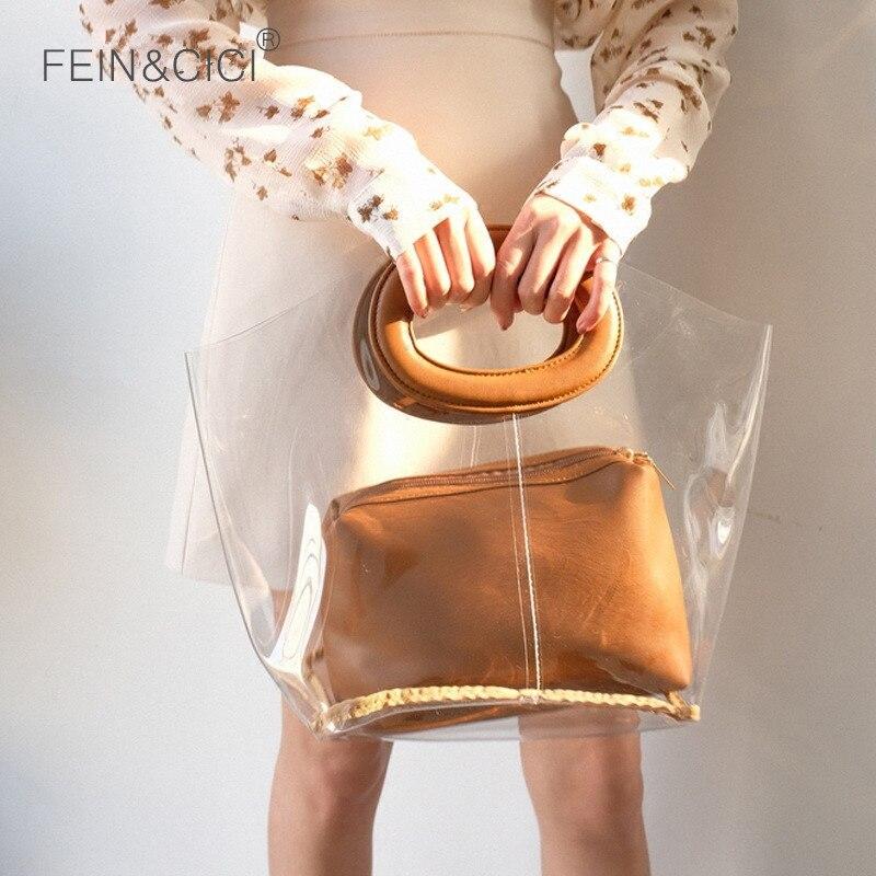 Clear pvc totes bag large transparent plastic beach bag women summer bags 2018 luxury brand fashion wholesale dropshipping алиэкспресс сумка прозрачная