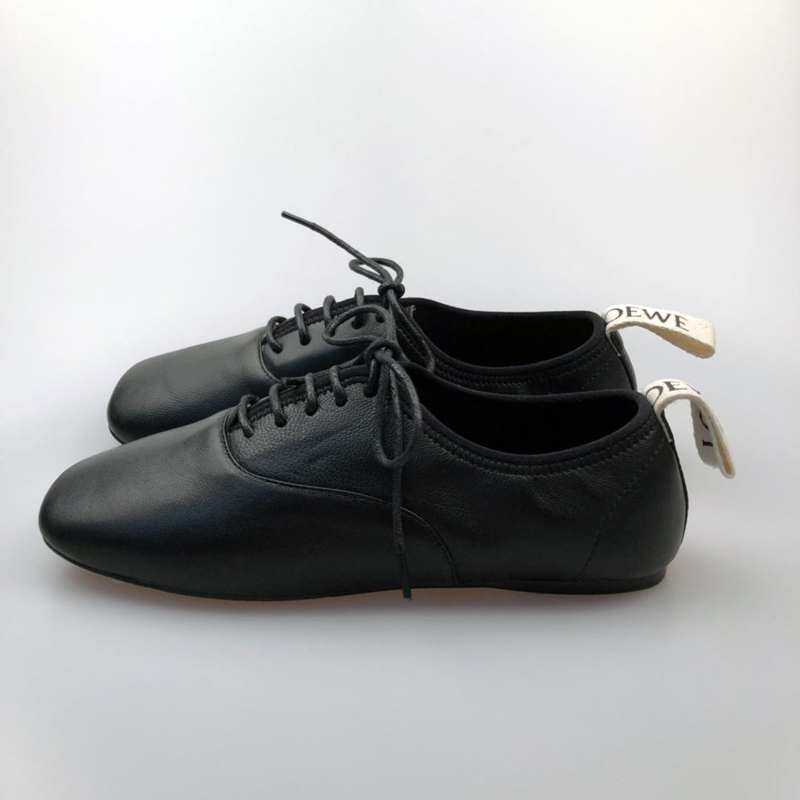 Leather women Shoes all leather shoes flat ballet New arrival fashion style lace-up for