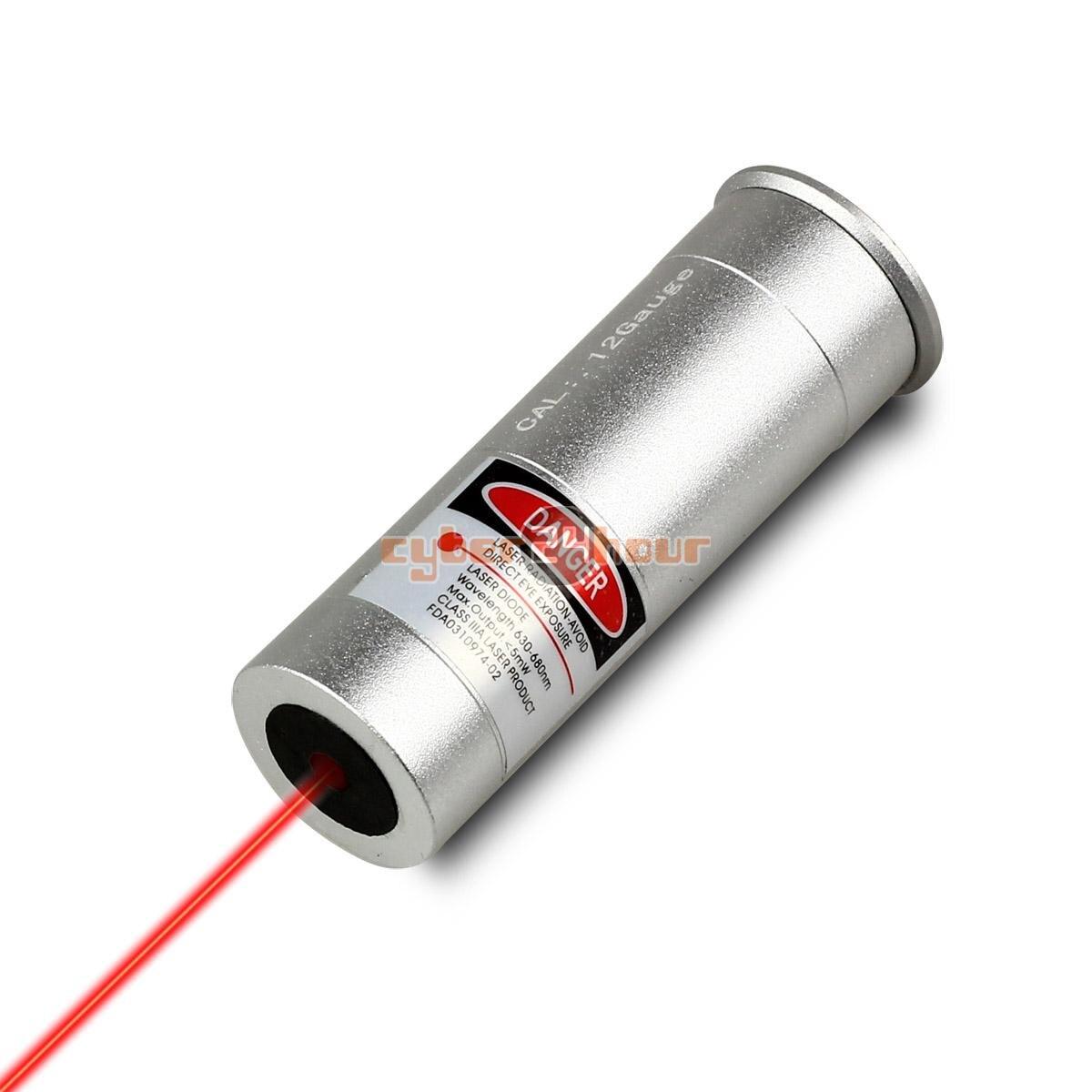 Di alta Qualità 12 Calibro Laser Della Cartuccia Foro Sighter Boresight 12GA & Laser Rosso Spedizione Gratuita!