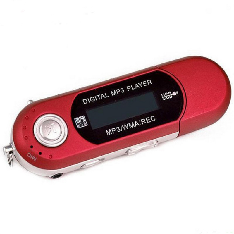 8 ГБ USB 2.0 Flash Мини MP3 плеера ЖК-дисплей Экран Новый USB Спорт MP3-плееры fm Радио mp3 с наушником наушники гарнитуры