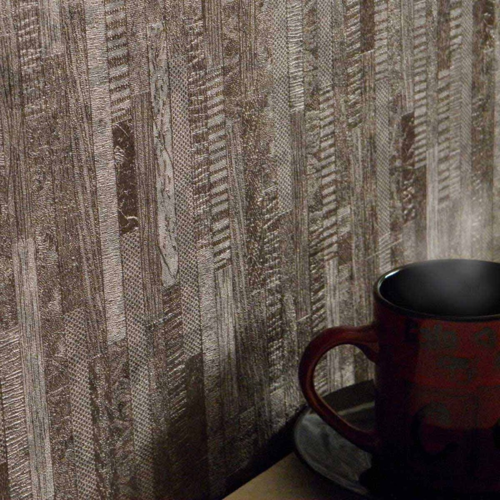 Dark coffee wallpaper 3d wood striped wallpaper embossed board dark coffee wallpaper 3d wood striped wallpaper embossed board wall paper brown wall mural decor for living room modern design in wallpapers from home amipublicfo Gallery