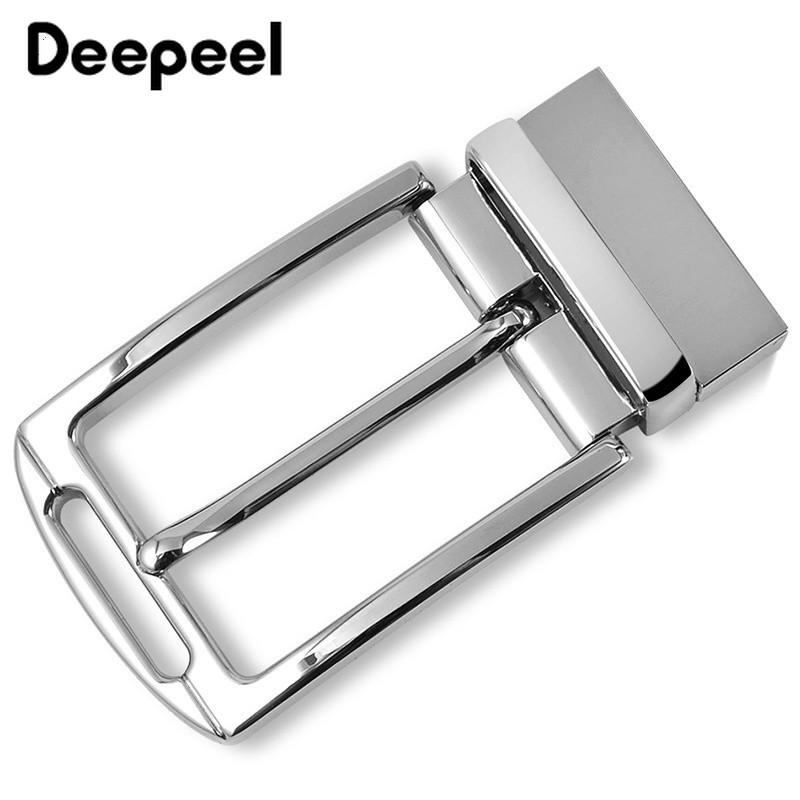 Deepeel Fashion Men Belt Buckles 360 Swivel Clip Metal Pin Buckles For Belt 33-34mm DIY Leather Craft Jeans Accessories YK125