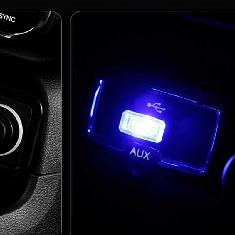 1 個車スタイリング USB 雰囲気 Led ライト車シボレークルーズ TRAX Lova 帆 EPICA Captiva マリブボルト
