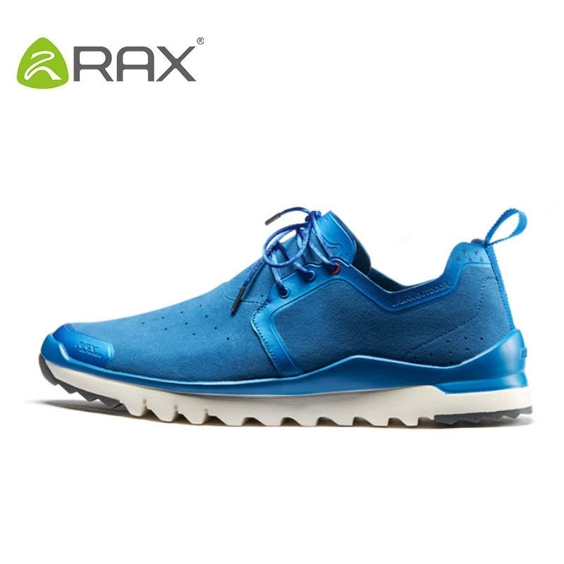Rax Outdoor Hiking Shoes Men Sneakers Breathable Sports Shoes For Men Spring And Summer Super Light Speed Climbing Shoes #B2525 2017 new spring imported leather men s shoes white eather shoes breathable sneaker fashion men casual shoes