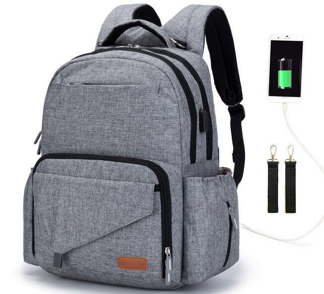Neu Gestaltete Windel Taschen Rucksack Wickeltasche Multifunktions für Papa Große Kapazität Pflege Tasche Hohe Qualität