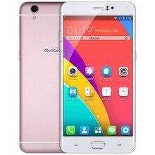 AMIGOO R9 Макс Android 5.1 Мобильный Телефон 6.0 Дюймов 3 Г MTK6580 1.3 ГГц Quad Core Smartphone 1 ГБ + 8 ГБ Две Камеры A-GPS Мобильного Телефона