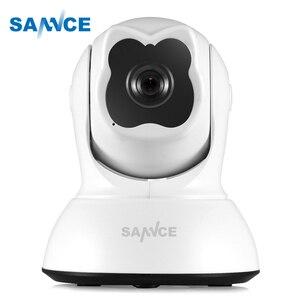 Image 1 - SANNCE Full HD 720P Không Dây Thông Minh Camera IP 1.0MP Camera Wifi Giám Sát trong nhà Sát IR Cắt An Ninh Ngôi Nhà Cho Bé màn hình