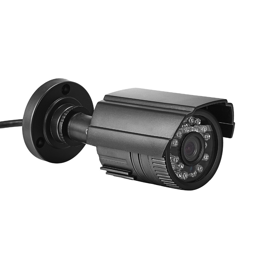 High Quality CCTV Camera 800TVL IR Cut Filter 24 Hour Day/Night Vision Video Outdoor Waterproof IR Bullet Surveillance Camera high quality cctv camera 800tvl ir cut filter 24 hour day night vision video outdoor waterproof ir bullet surveillance camera
