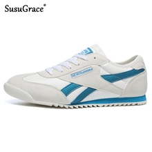 SusuGrace New Men Running Shoes Sneakers For Men Comfortable Sport Shoes Men Trend Light weight Jogging Shoes Breathable hombres