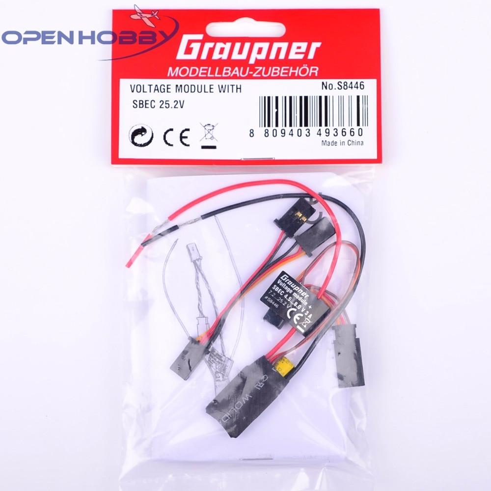 все цены на Graupner Voltage Module with SBEC | Telemetry Monitoring Free shipping онлайн