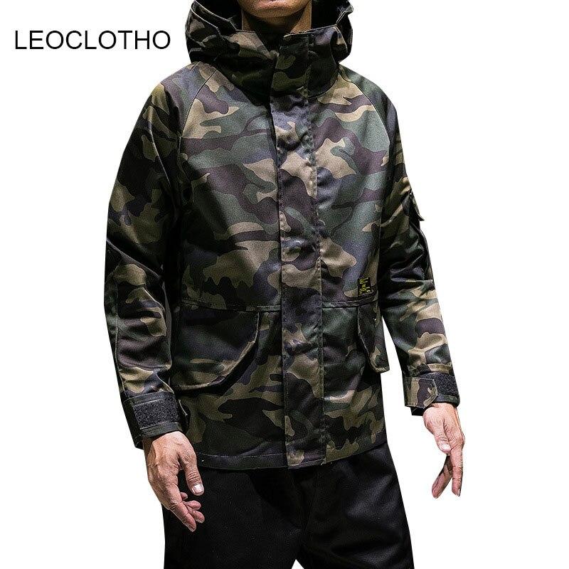 Casual Picture Militar Camuflaje Leoclotho Nuevos Otoño Largo Abrigo Moda Invierno Color Hombre Color picture Calor Hombres De Chaqueta wU6w0qf