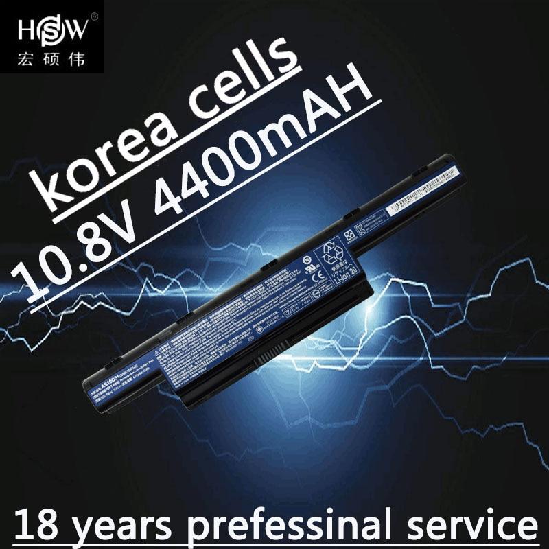 HSW batterie pour acer AS10D31 AS10D51 AS10D81 AS10D75 AS10D61 AS10D41 AS10D71 Aspire 4741 5742g 5552g 5742 5750g 5741g
