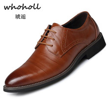 Whoholl Men Dress Shoes Floral Pattern Men Formal Shoes Leather Luxury Fashion Groom Wedding Shoes Men Oxford Shoes Dress 38-48 uexia men dress shoes floral pattern formal leather luxury fashion groom wedding shoes men oxford shoes dress plus size 37 50