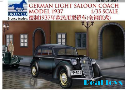Bronco MODEL CB35054 1/35 WWII Civilian 1937 German Opel Olympia Car bronco model cb35054 1 35 wwii civilian 1937 german opel olympia car