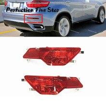 Влево/Вправо бампер задний противотуманный свет отражатель для BMW E71 E72 X6 2008 2009 2010 63147187219 63147187220