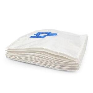 Image 5 - Włókniny tkaniny wiele pyłu z filtra torba do odkurzacza dla Miele S2110 S421I S5280 S8330 S8340 akcesoria do odkurzaczy