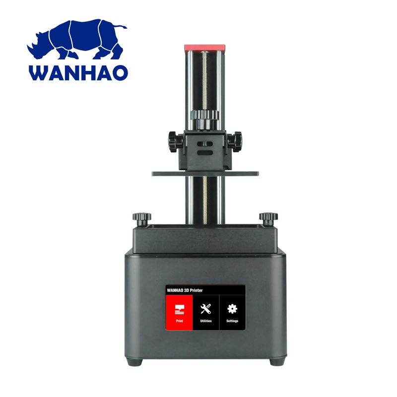 Wanhao Duplicator 7 PLUS LCD Touch Screen UV Resin SLA DLP 3D Printer Machine, Wanhao D7 Jewelry Dental 3D Printer,Free Shipping