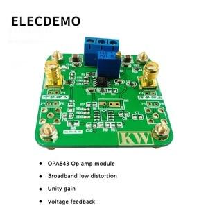 Image 2 - Opa843 모듈 광대역 저 왜곡 unity gain 안정화 전압 피드백 연산 증폭기 기능 데모 보드