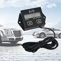 Digital Motor Tach Hour Meter Tacômetro Indicador RPM Do Motor Display LCD Para A Motocicleta Motor Do Curso Do Motor Barco Carro Motocicleta