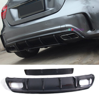 ED A Style Carbon fiber Rear Diffuser For BENZ W176 A45