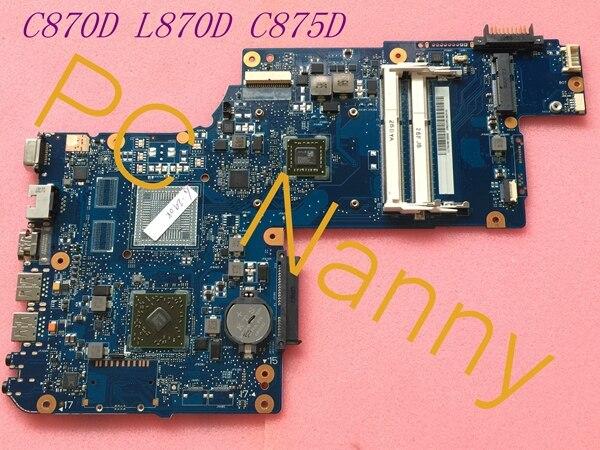 FOR Toshiba Satellite 17.3 C870D L870D AMD System Motherboard H000042820 EM1800 DDR3 Tested