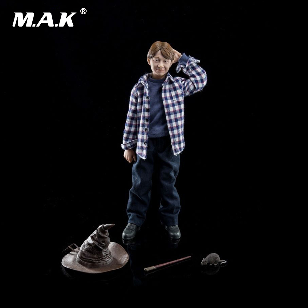 лучшая цена 1/6 Scale Full Set Action Figure Ron Weasley Casual Edition Figure Model Toys for Collection