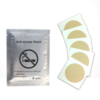 30pcs Natural Auricular Therapy Magnet Stop Smoking Patches Quit Smoke Plaster Smoking Cessation Nicotine Patch Cigarettes 3