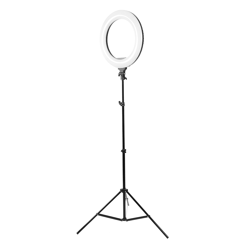 R-48B AC 18-inch external dimmable LED ring light suitable for mobile phone Nikon Canon