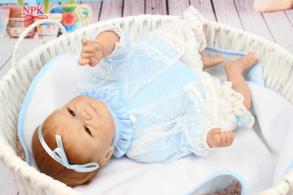 Npk Free Shipping Hot Sale Reborn Baby Doll Soft Real Touch Baby Dolls Gift For Kids Gifts For Kids Kids Giftsgifts Free Aliexpress