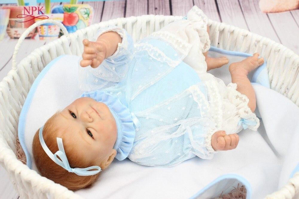 NPK vendita calda di trasporto libero del bambino rinato bambola morbida reale di tocco baby dolls regalo per i bambiniNPK vendita calda di trasporto libero del bambino rinato bambola morbida reale di tocco baby dolls regalo per i bambini